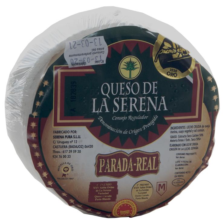 Queso de la Serena D.O.P. Parada-Real. 650gr aprox.