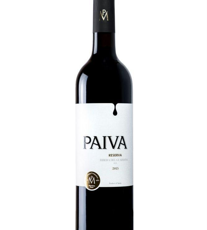 Paiva. Reserva 2015. D.O. Rivera del Guadiana. 750ml.