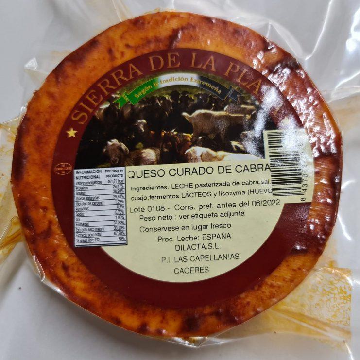 queso curado de cabra felicianobecerra.com