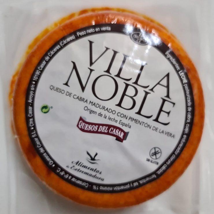 queso de cabra Villa Noble